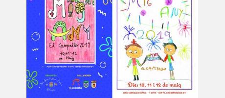 Programa de mano de la Fiesta Mig Any El Campello