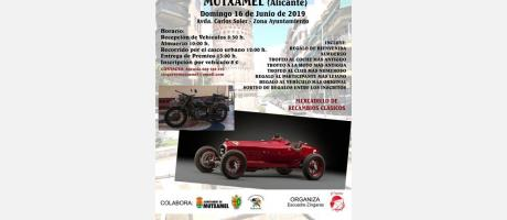 1ª Concentración de coches y motos clásicos e históricos