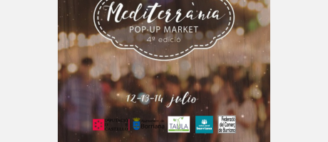 cartel 4ª edición Pop Up Market