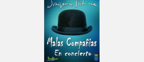 Malas compañías en concierto