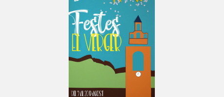 Portada Festes 2018 El Verger