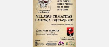 VELADAS TEMÁTICAS CAPITANÍA CRISTIANA 2019