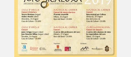Musicaloxa 2019 programa
