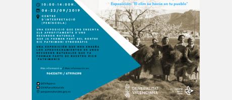 Exposición en Centro de Información del Parque Natural Sierra de Irta - Peñíscol