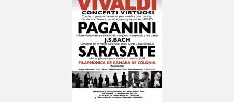 Concierto de la Filarmónica de Colonia