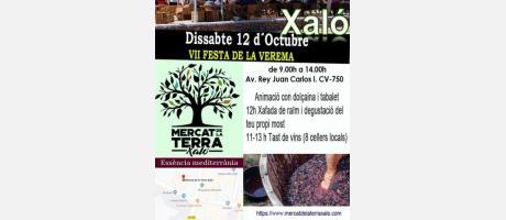 VII Fiesta de la vendimia en Xaló
