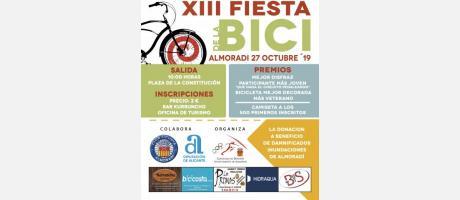 Cartel Fiesta de la Bici en Almoradí