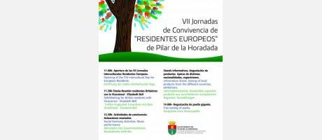 VII Jornadas de Convivencia de 'Residentes Europeos' de Pilar de la Horadada