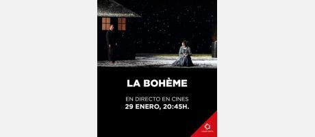 """""""LA BOHÈME"""". GIACOMO PUCCINI. ÓPERA EN 4 ACTOS"""