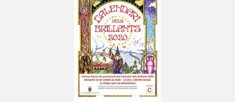 """Vermú literario: presentación """"Calendari dels Brillants 2020"""" EPNDB"""