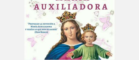 Cartel anunciador de las Fiestas en honor a María Auxiliadora El Campello 2018.