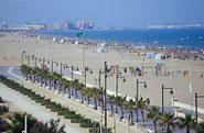 Img 1: Playa La Malvarrosa