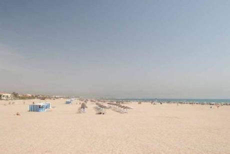 Foto: Playa El Cabañal-Arenas