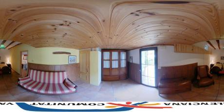 Habitación doble con salón