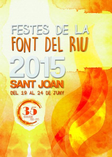 Cartell Festes Sant Joan 2015