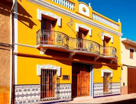 Fachada Casa Ca-Olivares