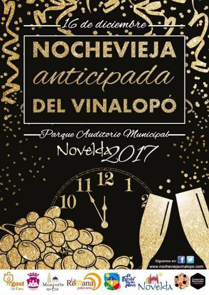 Cartel Nochevieja Vinalopó 2017