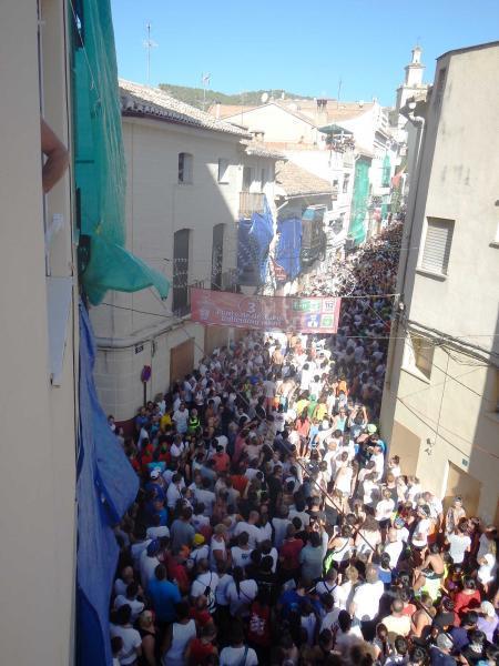 Calle principal de Buñol