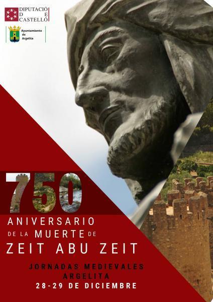 JORNADAS MEDIEVALES 750 ANIVERSARIO MUERTE ZEIT ABU ZEIT