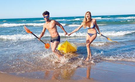 Verano en las playas de la Comunidad Valenciana - diviertete en la Playa de Benidorm