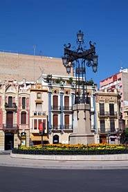 Img 1: Parque Ribalta, Plaza de la Independencia y Plaza Tetuán