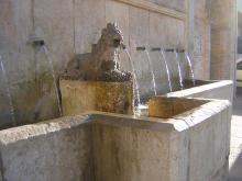Foto: La fuente de la Glorieta o del Lleó de Albaida