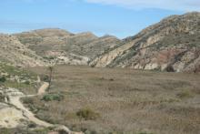 Panorámica - Acueducto - Paraje Natural Municipal Los Algezares