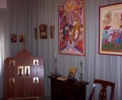 Sammlung Byzantinischer Kunst Im Kloster Monasterio De La Transfiguración Del Señor