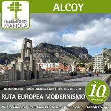 Modernist Alcoy, a route full of history
