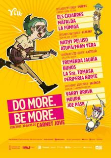 DO MORE BE MORE  CONCIERTOS 30 AÑOS DE CARNET JOVE