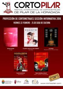 """I Proyección de Cortometrajes de la """"Sección Informativa Cortopilar"""""""