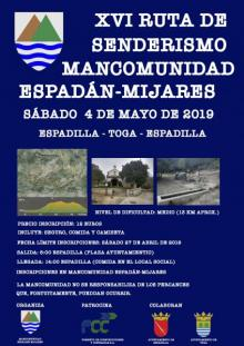 XVI RUTA DE SENDERISMO MANCOMUNIDAD ESPADÁN-MIJARES
