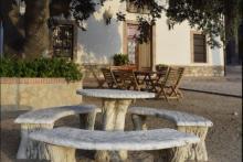 Holen Sie sich frische Luft im Landhaus Fontanelles in Biar