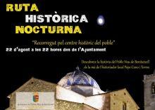 Ruta histórica nocturna EPNDB
