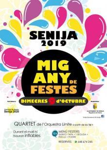 Medio año de fiestas 2019 en Senija