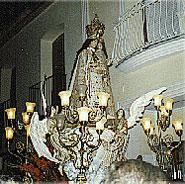 Festivity in honour of the Virgen Pobre