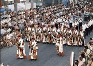 Moros i Cristians en honor de Santa Marta