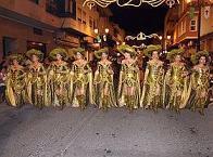 Feste des Heiligen Santiago Apóstol mit Mauren und Christen