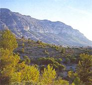 The Montgo Mountain Nature Park