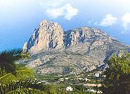 The Aitana Sierra and el Puig Campana