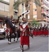 Moors and Christians festival in Ontinyent