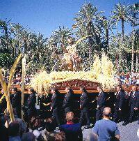 Procesión de Domingo de Ramos en Elche