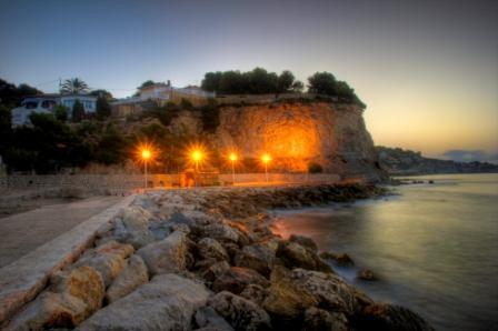 Sommerfestes Am Strand von l'Advocat-Baladrar