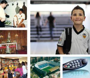 Tour por el campo del Mestalla en Valencia