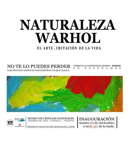 Naturaleza Warhol. El arte, imitación de la vida, en el Museo de Ciencias Naturales de Valencia