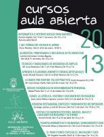 CURSOS AULA ABIERTA- REQUENA 2013