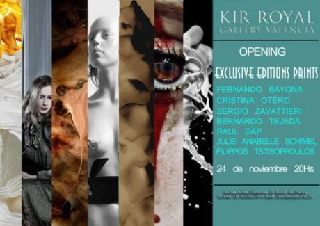 Exclusive Editions Prints en la Galería Kir Royal de Valencia