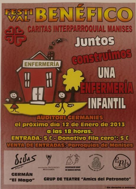Festival Benéfico Cáritas Interparroquial de Manises