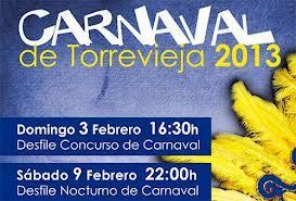 Carnaval Torrevieja 2013