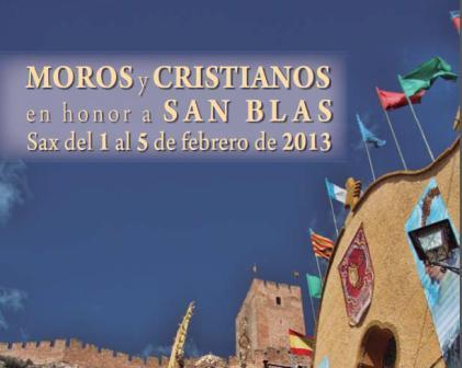 Moros y Cristianos en honor a San Blas 2013